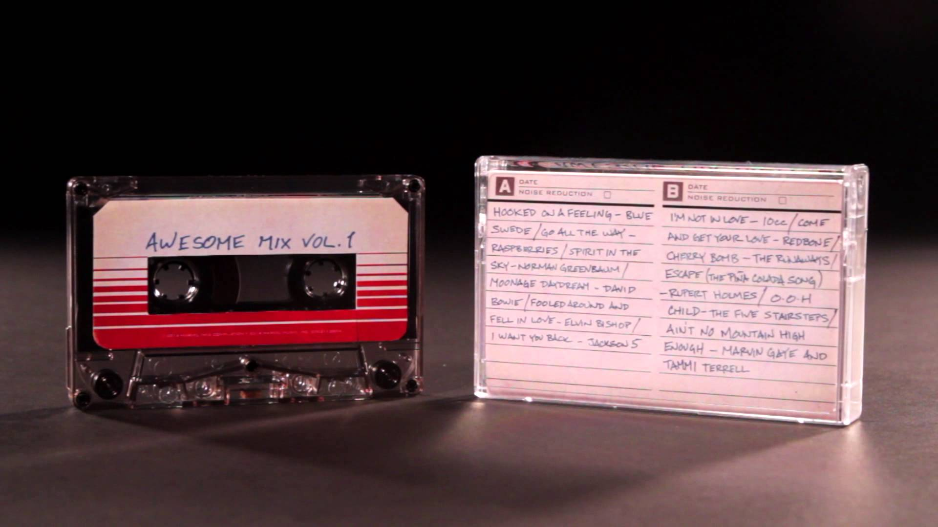 Guardians of the Galaxy Awesome Mix Vol. 1 Will Be Released on Cassette  Tape  Side A 70daea7a428