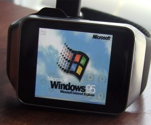 Windows 95 on Android Smartwatch: How Time Flies