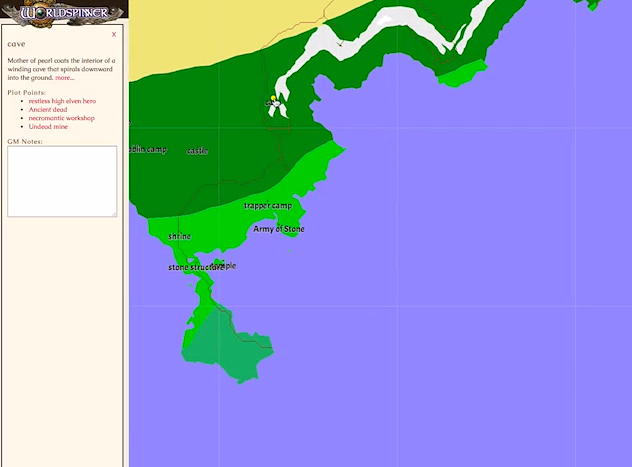 Other world mapper worldspinner map design software charted heres what will appear when you click on it gumiabroncs Images
