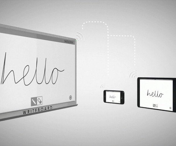 WriteBoard Electronic Whiteboard: Quantum Note Taking