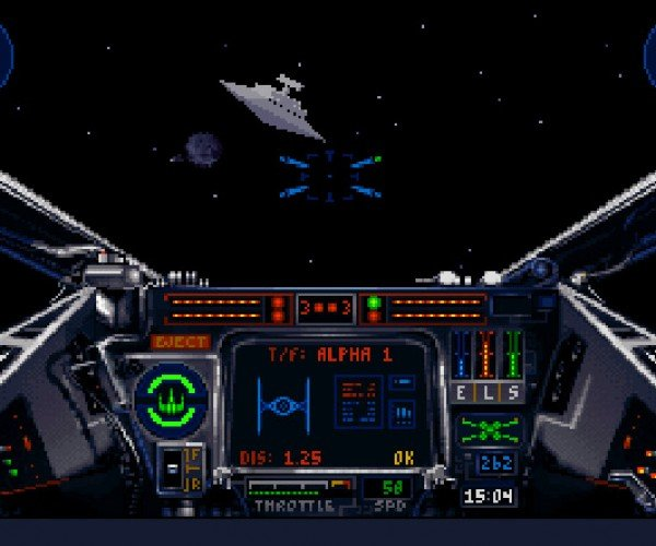 1990s X-Wing and TIE Fighter Video Games Re-Released!
