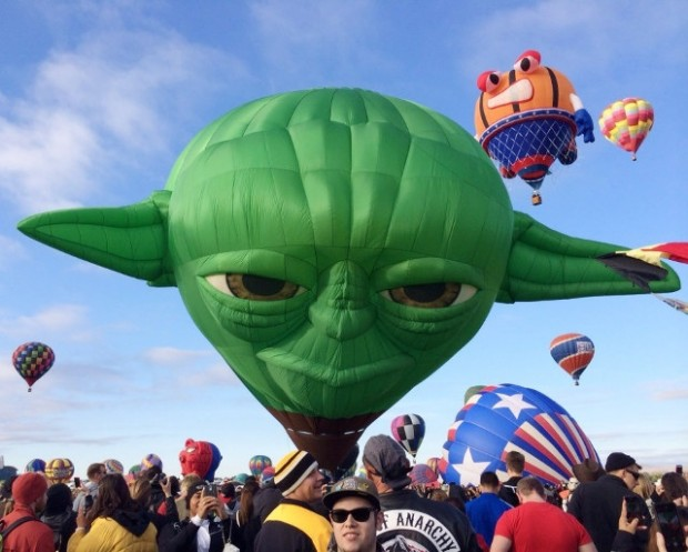 yoda balloon