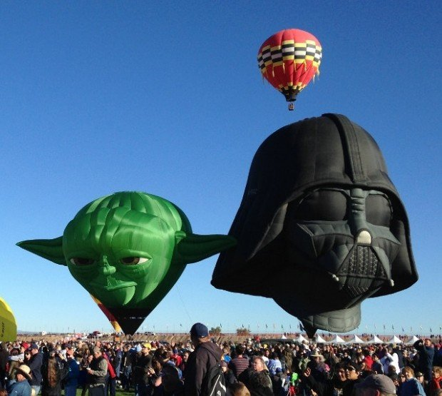 Yoda Hot Air Balloon: Judge Me By My Head Size, Do You?