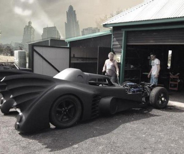This Guy Built A 1989 Batmobile, Dresses up as Batman to Help Sick Kids