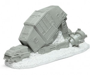 Star Wars Lawn Ornament Turns Your Snowy Yard into a Tiny, Tacky Battle of Hoth