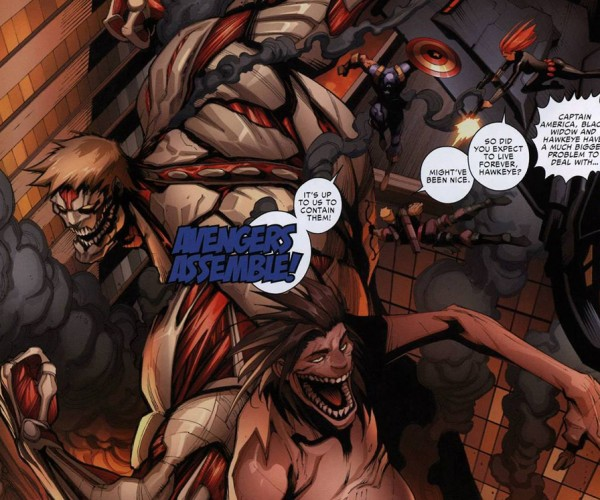 Attack on Titan x Marvel Comic: Shingeki no Short-lived