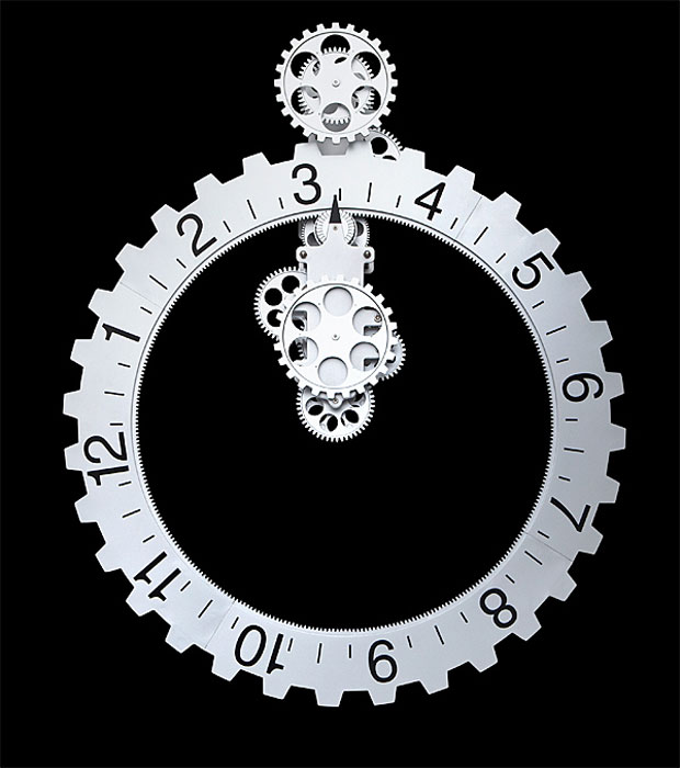 A Cool Wall Clock Has Turned Up On ThinkGeek Called The Big Gears Wall Clock.  Per Itu0027s Name, It Has Big Gears U2013 Much Bigger Than Yours Are, Be Jealous.