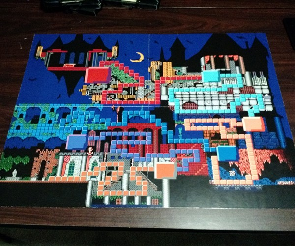 Fan-made Castlevania Board Game: Whips & Daggers
