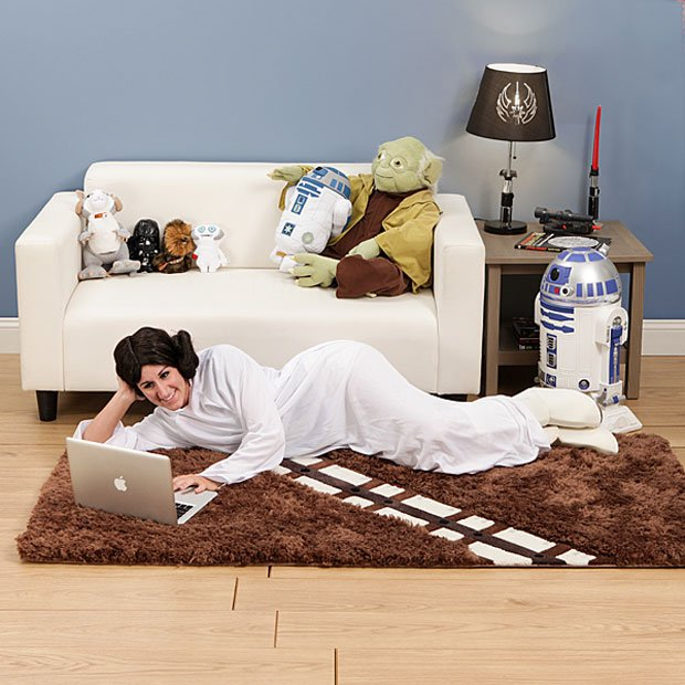 Rug Dog Won T Chew: Chewbacca Rug Won't Rip Your Arm Out Of Its Socket