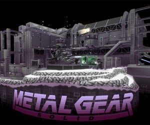 Metal Gear Solid Virtual Diorama: Solid Snake, REX, Y & Z