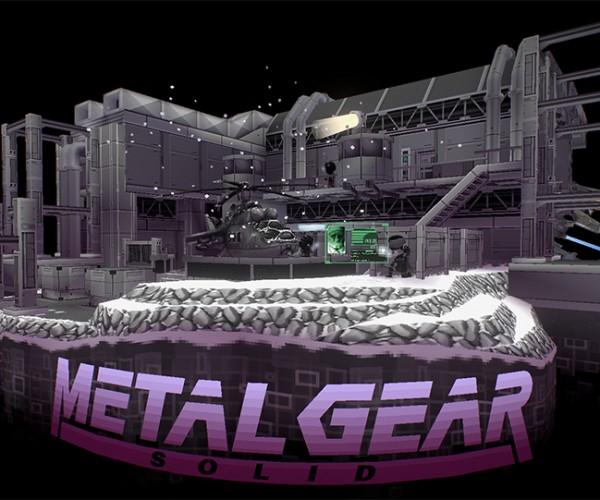 Metal Gear Solid Virtual Diorama: Solid Snake, REX, Y & Z