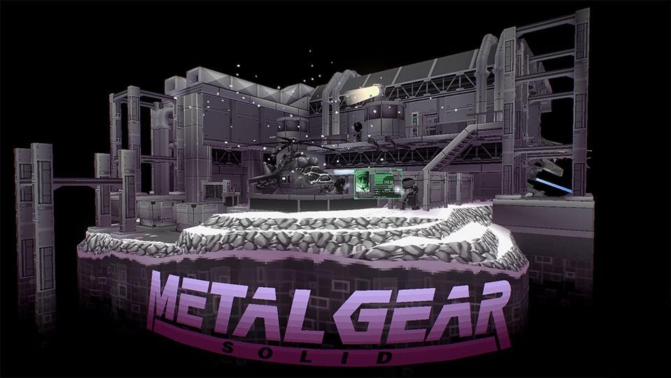 metal gear solid virtual diorama solid snake rex y z technabob