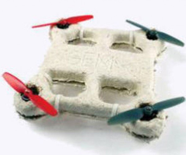Biodegradable Drone Made from a Fungus Self Destructs After a Crash