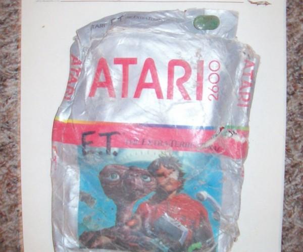 Buried Atari E.T. Games Hit eBay