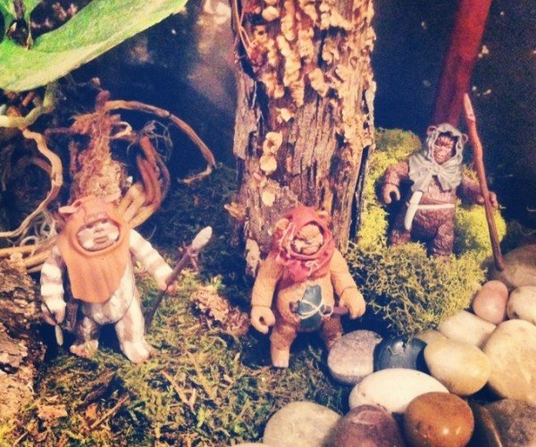 The Diorama to Endor All Ewok Dioramas