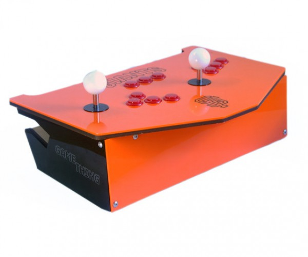 GameThing: A Laptop Stand That's Also a Two-Player Arcade Controller