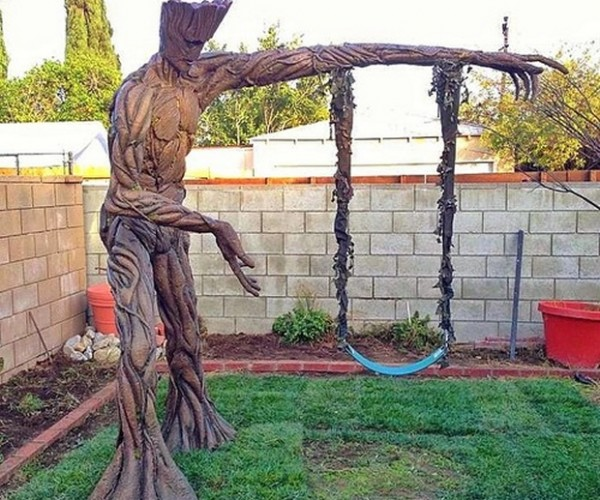 Groot Backyard Swing: Guardians of the Playground