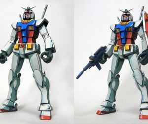 Gundam Gunpla Retro Anime Painted Action Figure: Oldtype