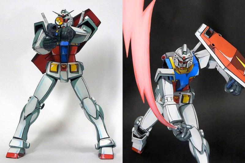 anime paint jobs gundam models