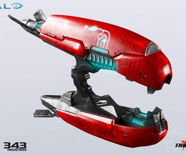 Halo 2 1:1 Plasma Rifle Replica Fires 600 Dollars Per Purchase
