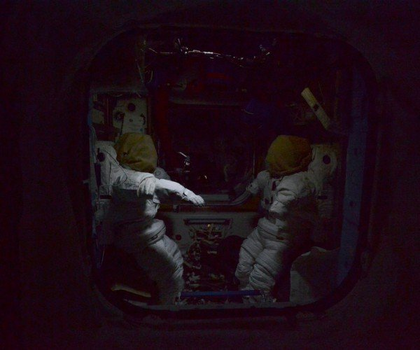 The International Space Station at Bedtime: In Space, No One Can Hear You Sleep
