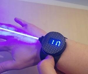Laser Watch: Pew O'clock