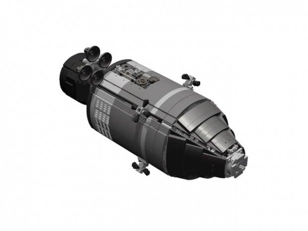 lego apollo 11 spacecraft lunar module set by luispg 2 620x465