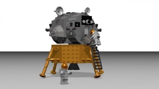 lego apollo 11 spacecraft lunar module set by luispg 5 620x348