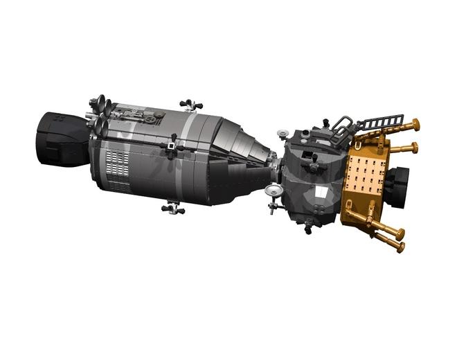 LEGO Apollo 11 Concept Set: One Giant Leap for Minifigs