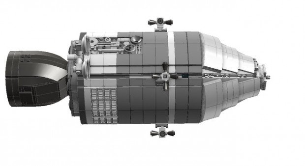 lego apollo 11 spacecraft lunar module set by luispg 7 620x338