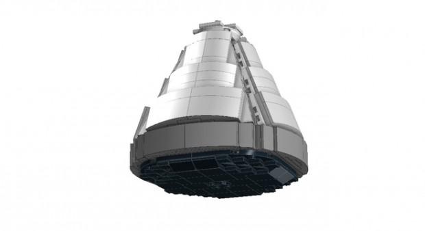 lego apollo 11 spacecraft lunar module set by luispg 9 620x338
