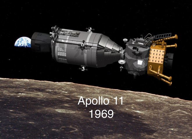 LEGO Apollo 11 Concept Set: One Giant Leap for Minifigs
