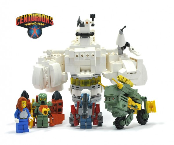 LEGO Centurions Concept: Brick and Machine, Power Xtreme!