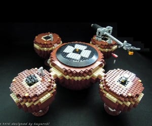 LEGO Record Player: Brickophone