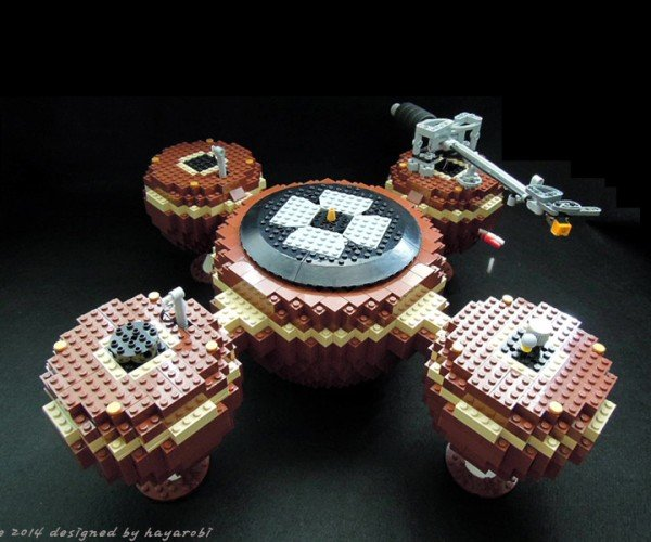 LEGO Record Player: Brickophone