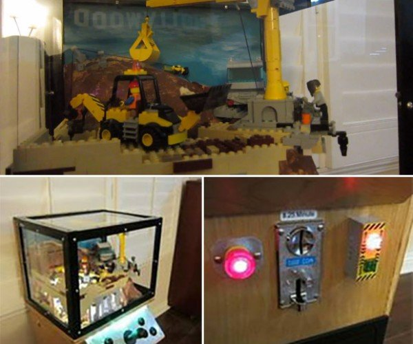 LEGO Animatronic Coin-Op Machine