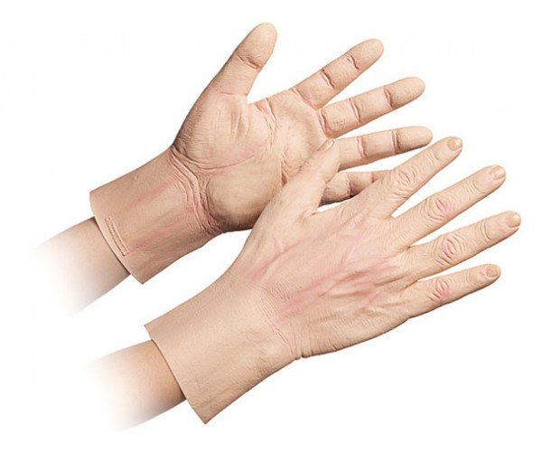 Giant Man Hands Would Creep out Seinfeld