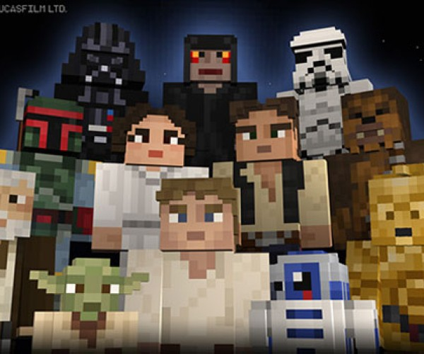 Minecraft Star Wars Skins: May the Blocks Be with You