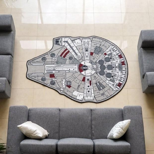 millenium falcon rug1