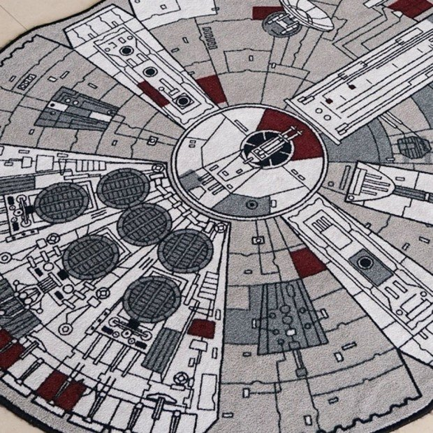 millenium falcon rug2