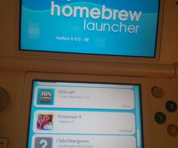 Nintendo 3DS Ninjhax Homebrew Exploit: Release the Hacken