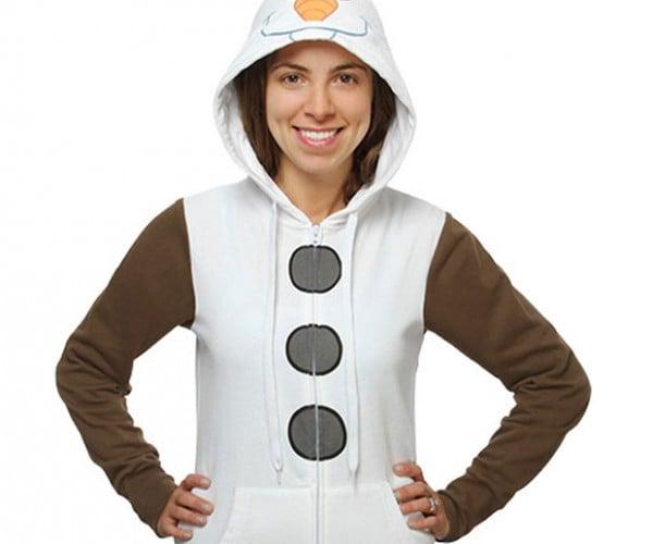 I Am Olaf Hoodie Lets You Build a Snowman Dressed Like a Snowman