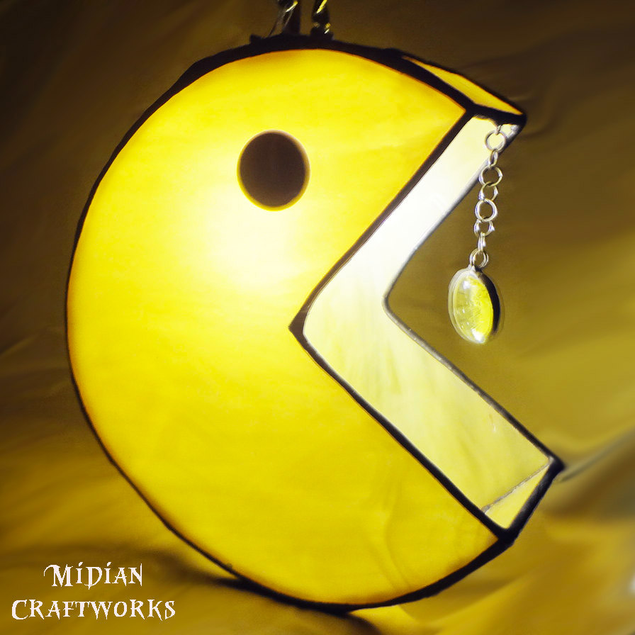 Pac Man Amp Ghost Pendant Lamps Wakka Wakka Lighta