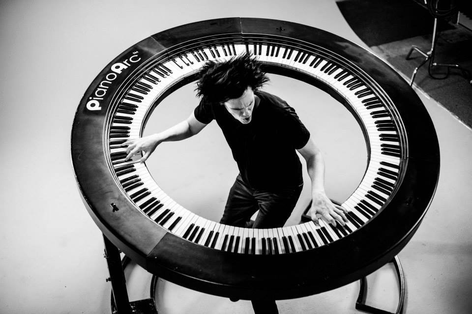 Pianoarc Round Keyboard Music Is A Flat Circle