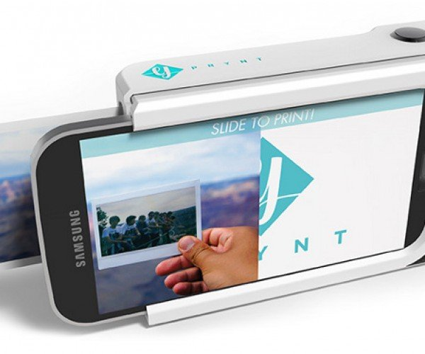Prynt Case Turns Your Phone Into a Polaroid-esque Camera