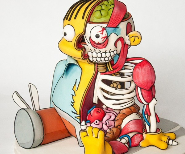 Dissected Ralph Wiggum Cake: When I Grow up I Want to Be a Principal or a Pastry!