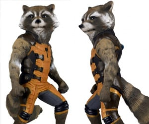 Rocket Raccoon Full-size Figure: Ain't No Thing like Me, Except Me