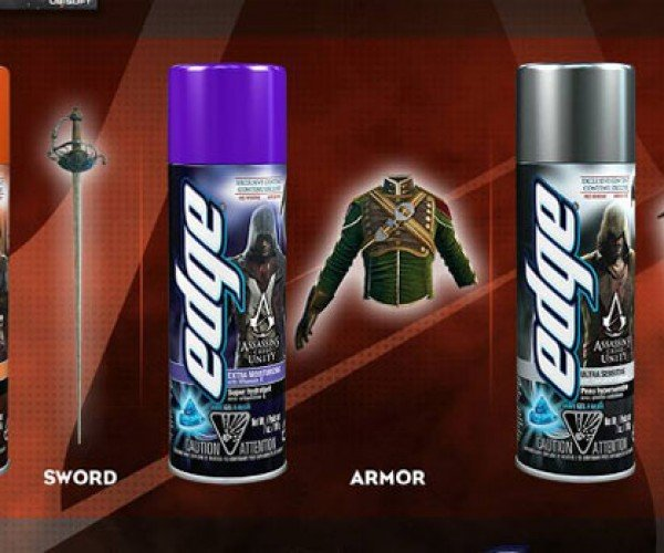 Assassin's Creed Unity DLC Available for Buying Shaving Cream