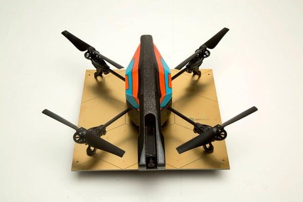 skysense uav drone charging pad