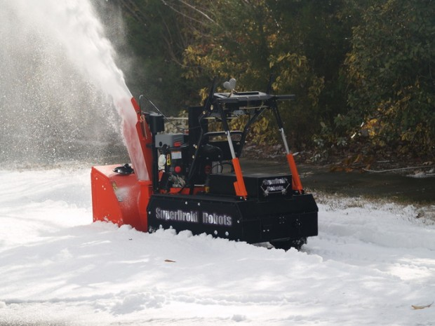 Plow Or Snow Blow Your Driveway Without Going Outside